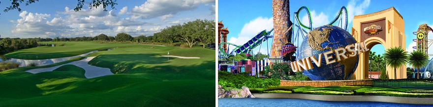 9 Day Orlando Florida Golf Tour