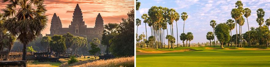 9 Day Golf Cambodia Siem Reap