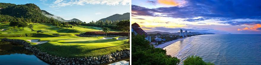 7 Night Hua Hin Thailand Golf Tour