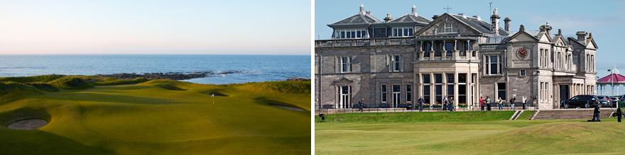 8 day Scotland Golf Tour St Andrews & Ayreshire
