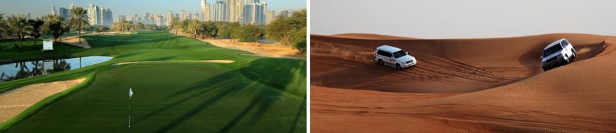 8 Day Dubai Golf Package