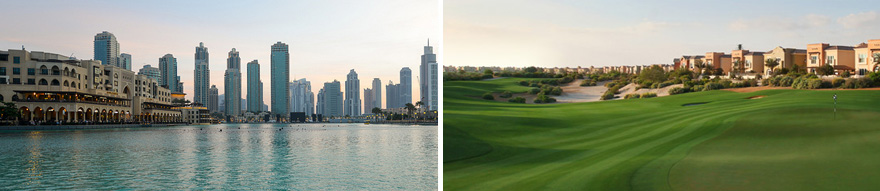 6 Day Dubai Golf Package